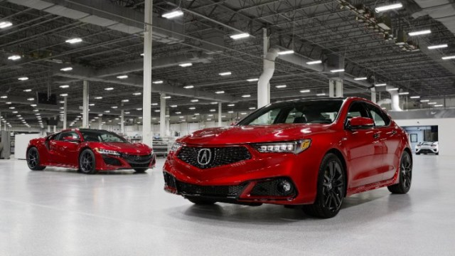 Where Are Acura Models Made?
