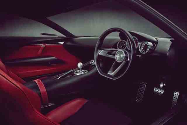 Mazda RX9 Interior Design