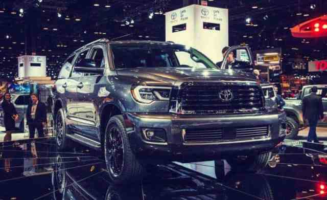 Spy Photo 2019 Toyota Sequoia SUV