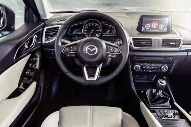 Interior Design for Mazda 3 in 2019