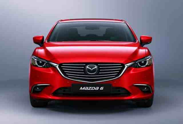 Mazda 6 Front View