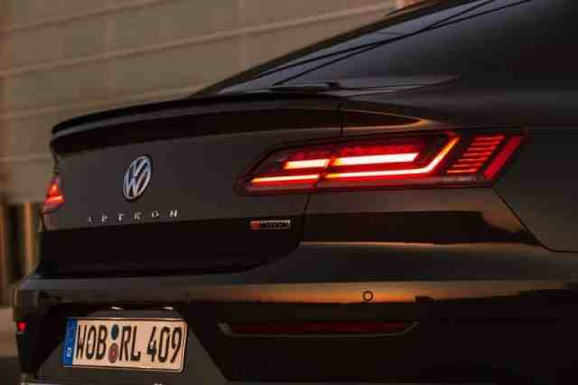 New Volkswagen Arteon Taillight