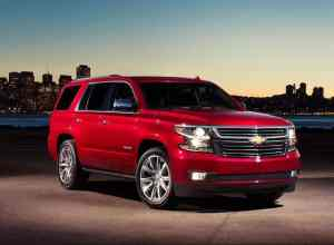 2018 Chevy Tahoe Model