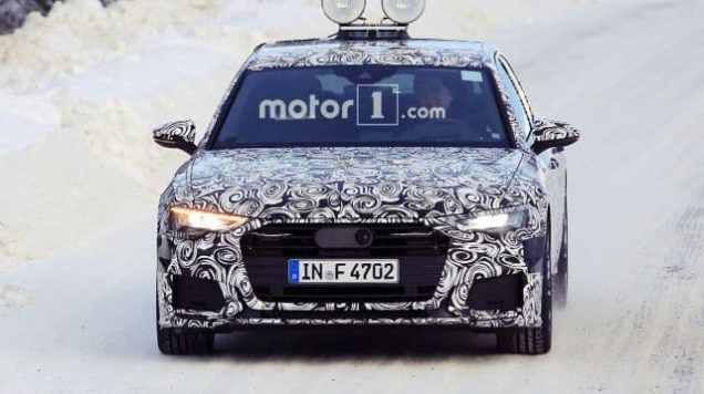 New Audi A6 Spied - 2019 Audi A6