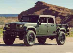 New 2019 Jeep Wrangler Pickup Truck Concept