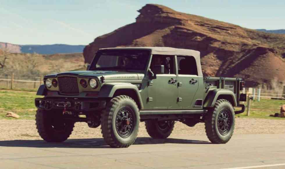 2019 jeep wrangler pickup truck price release date carssumo. Black Bedroom Furniture Sets. Home Design Ideas