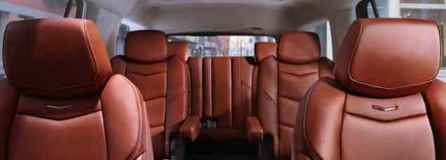 2018 Escalade Seats Design