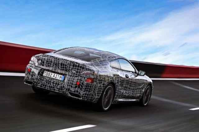 BMW 8 Series Prototype 4