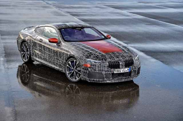 New BMW 8 Series Prototype