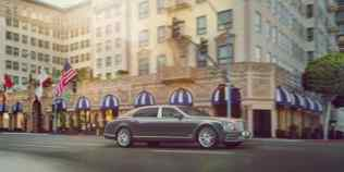 New Bentley Mulsanne Extended Wheelbase Exterior