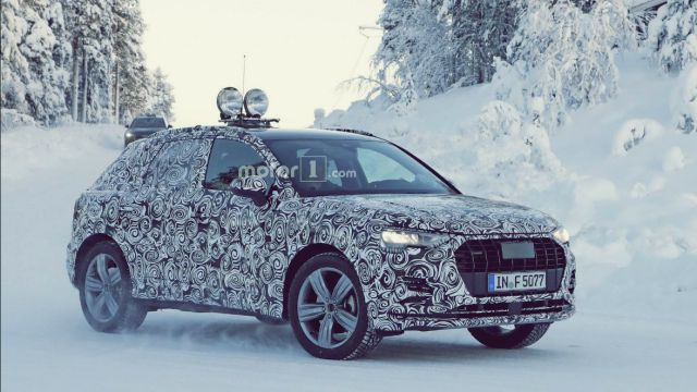 Next Generation Audi Q3 Spied