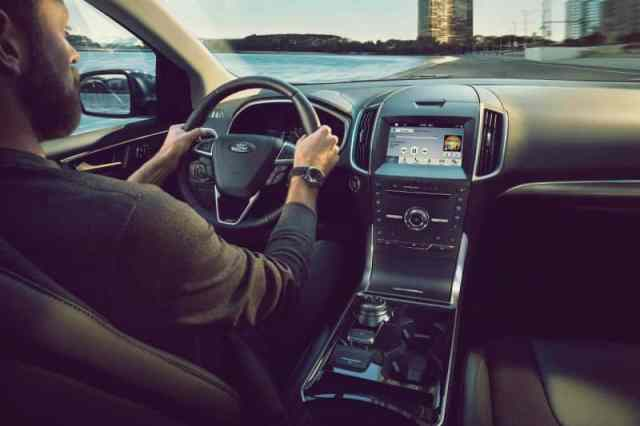 2019 Ford Edge ST Interior