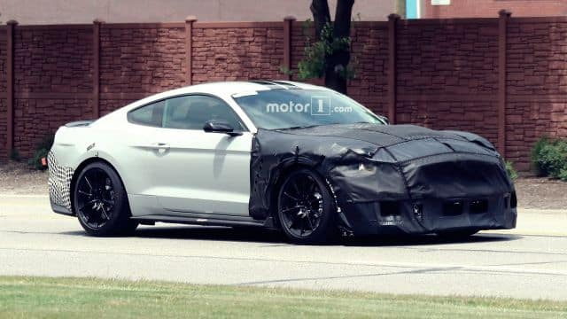 2019 Shelby GT500 Spied