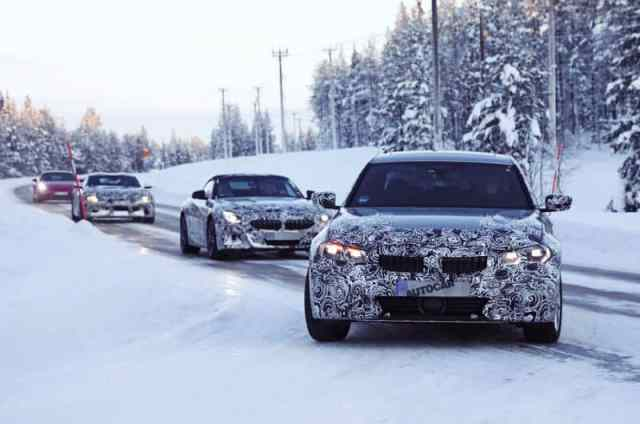 BMW 3 Series 2019 Spy Photo
