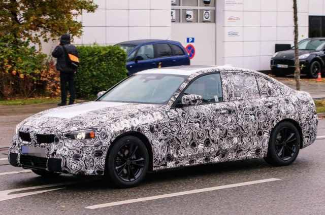 BMW 3 Series Spy Photo