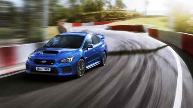 Current Subaru WRX STI