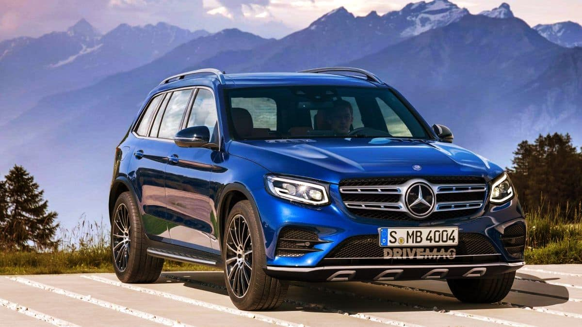 2019 Mercedes-Benz GLB Class SUV Spied - CarsSumo