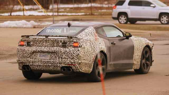 New Chevrolet Camaro Spy Photo