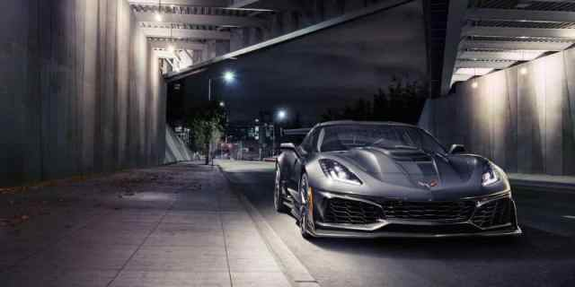 New Chevrolet Corvette ZR1