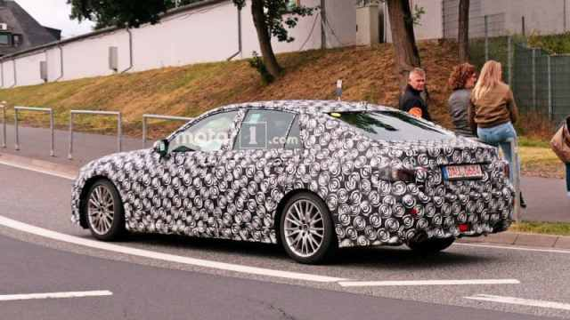 New Lexus GS Spy Photo