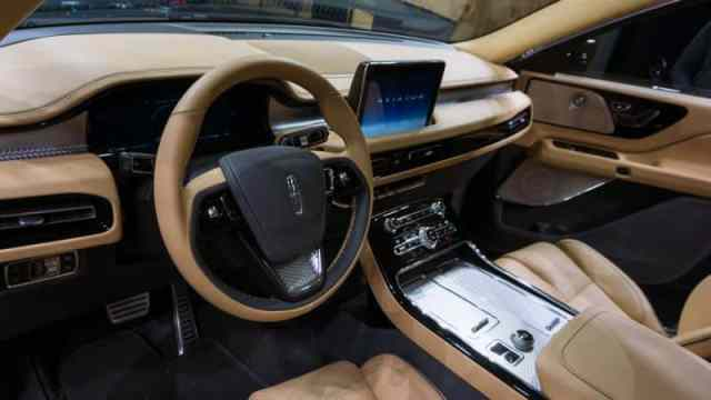 New Lincoln Aviator 2019 Interior