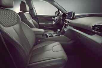 New Sante Fe Front Seat