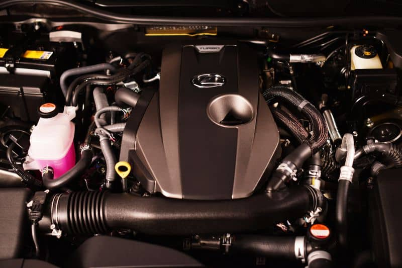 The Current Lexus GS Engine