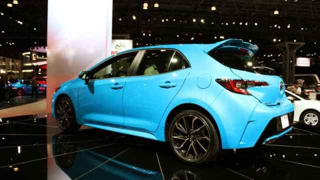 New Corolla at New York Auto Show
