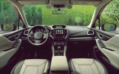 5. 2019 Forester - Spacious Interior Room