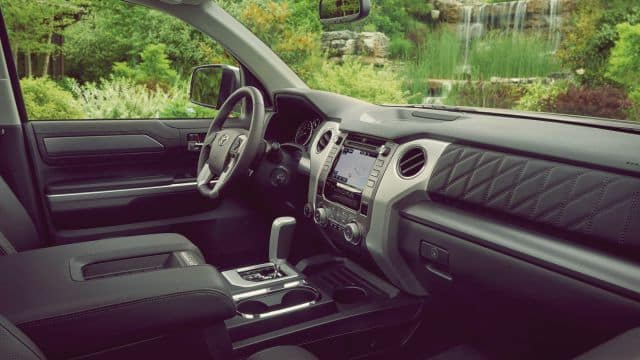 New Tundra Interior