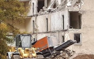Historischer Abriss: Kaserne in Nettgau fällt