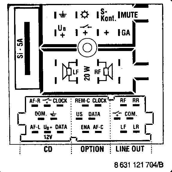 Mercedes Benz Radio Wiring Diagram Blaupunkt Car Stereo