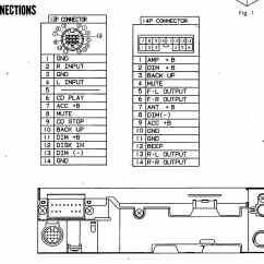 Car Audio Wiring Diagram For House Plugs Wire Codes Toyota Factory Stereo