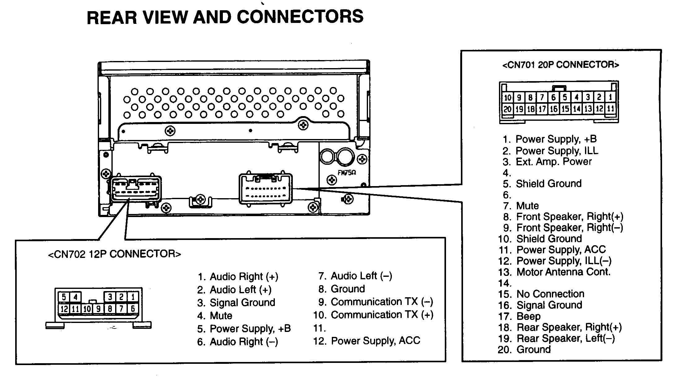 wiring diagram car audio speakers honeywell r8285d stereo help wire color code diagrams and factory repair bose all are not