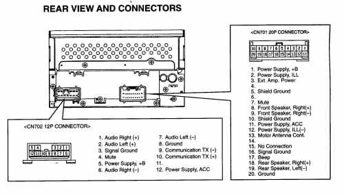 small resolution of factory car stereo wiring diagrams detailed schematics diagram rh lelandlutheran com 1993 lexus es 300 1993