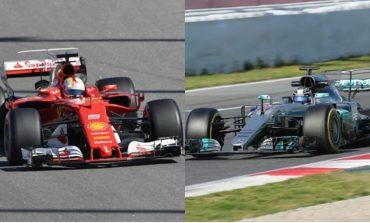 Em Barcelona, Ferrari x Mercedes