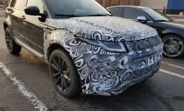 Novo Land Rover Evoque é flagrado em teste de rodagem nos EUA