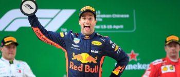 Na China deu Ricciardo !