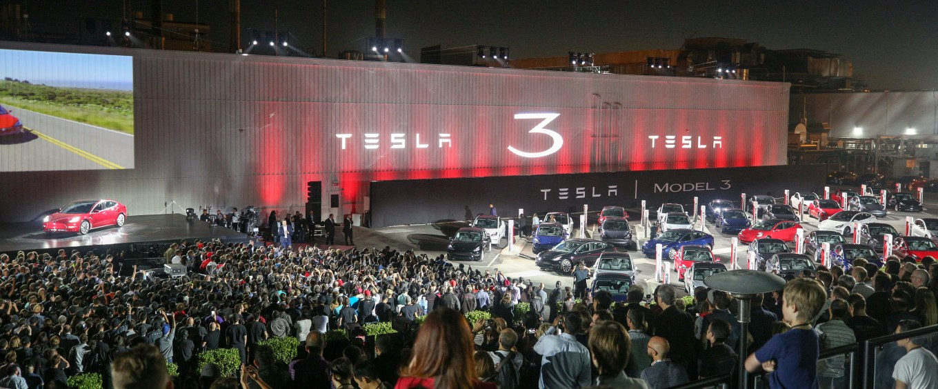 Model 3 Delivery Event Stage