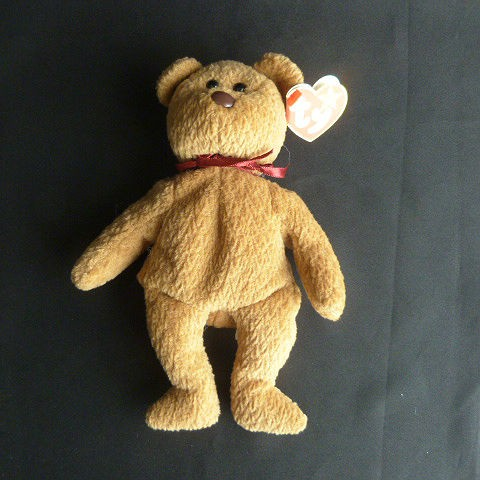 Curly Ty Beanie Baby