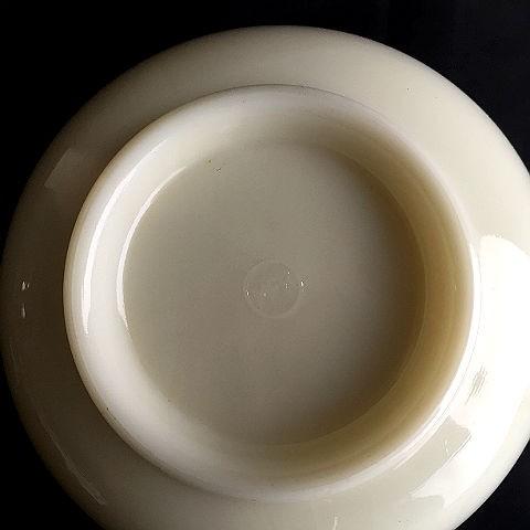 McKee Wild Rose Decal Cream Mixing Bowl