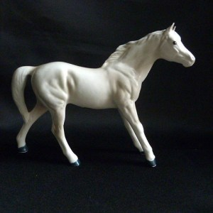 Mid-Century Porcelain Horse by Arnart Creations Japan