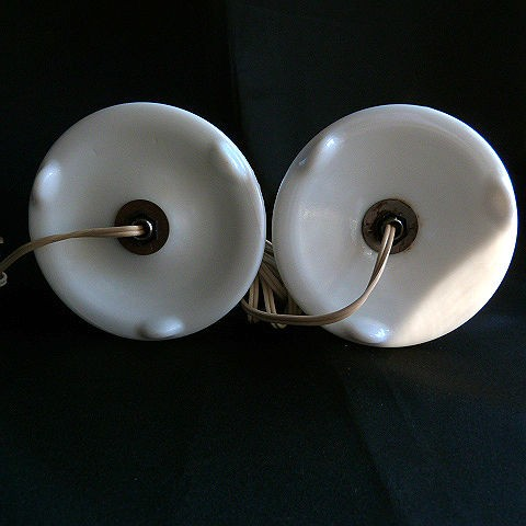 Fenton Milk Glass Lamps