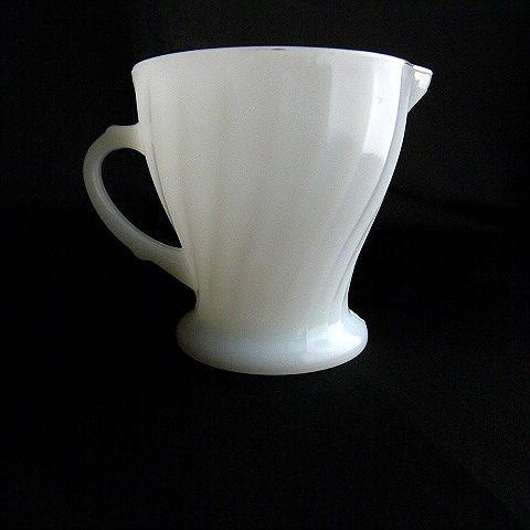 Fire King Milk Glass Creamer