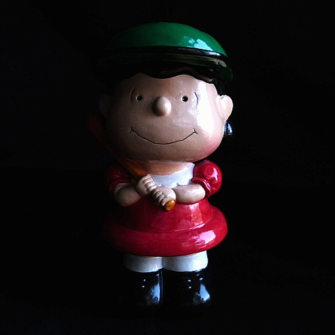 Vintage Lucy Peanuts Baseball Bank