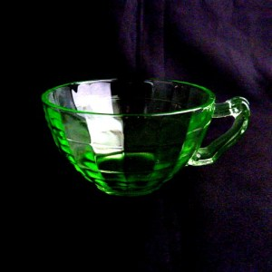 Block Optic Green Cup