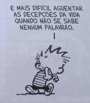 Calvin por Bill Waterson