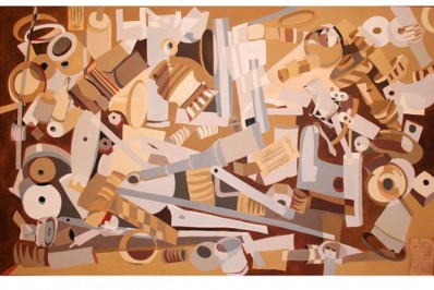 Ferramentas 01 (óleo sobre tela)