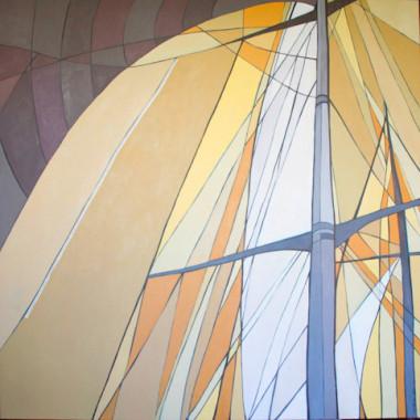 Navegar é Preciso 3 (óleo sobre tela)