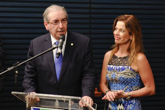 eduardo_cunha_e_claudia_cruz_agencia brasil